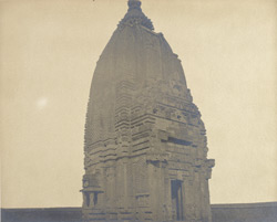 General view of a temple of the Chandella period, Phatera